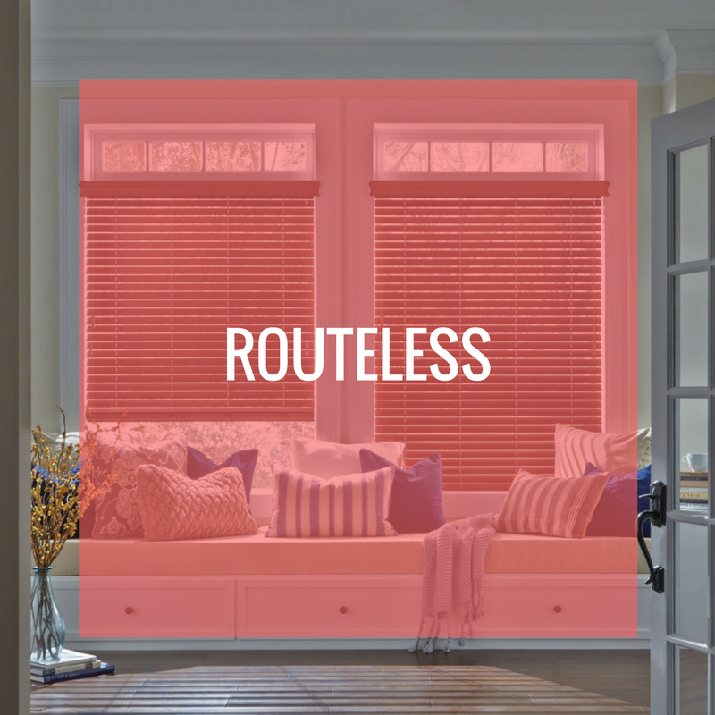 routeless blinds