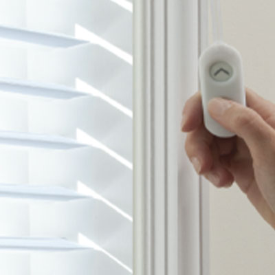 PowerTouch motorized blinds