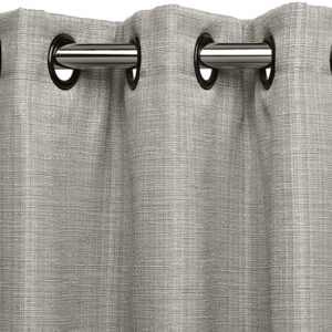 Close-up of drape with gromet