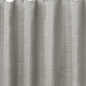 Close-up of drape with hidden back tab