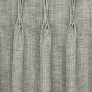 Close-up of drape with pinched pleat